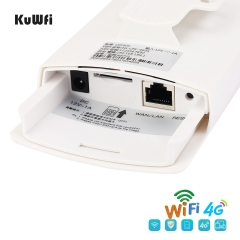 KuWFi Waterproof Outdoor 4G CPE Router 150Mbps CAT4 LTE Routers
