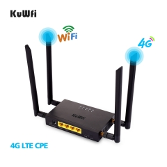 300Mbps Industrial Router CAT4 4G CPE Router Extender Strong Wifi Signal Suport 32Wifi users With Sim Card Slot