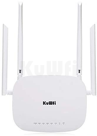 CPE813 Click to open expanded view KuWFi 4G Router, 300Mbps LTE Router Unlocked CPE Wireless Router with SIM Card Slot Fixed External Wi-Fi Antennas f